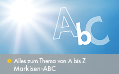 Markisen-ABC